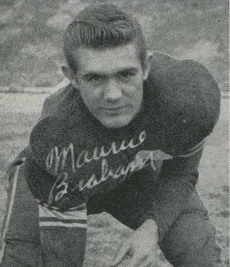 Maurice Braham, right guard, captain of the team